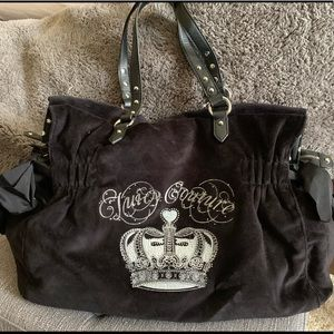 NWT Juicy Couture Velour Bag